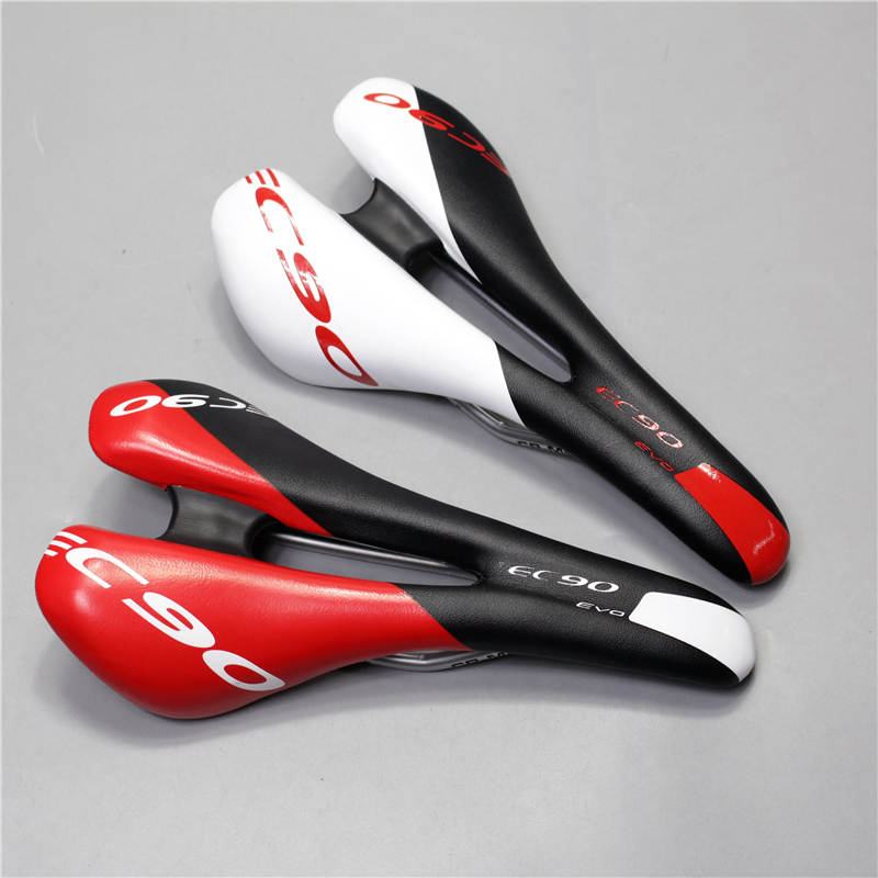 2017 new EC90 Bicycle Saddle Bike Seat Men Cycling Cushion Mountain Bike Steel Rail Sillin Cojines Hollow Design Bike Saddle new arrival carbon saddle bicycle bike saddle seat road bike saddle sillin bicicleta sillin carbono sella carbonio