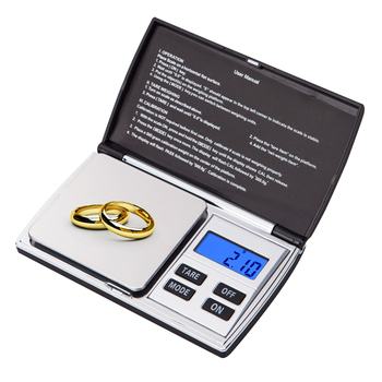 Balanza digital de bolsillo 0,01g/0,1g Mini escala de la joyería de diamante...