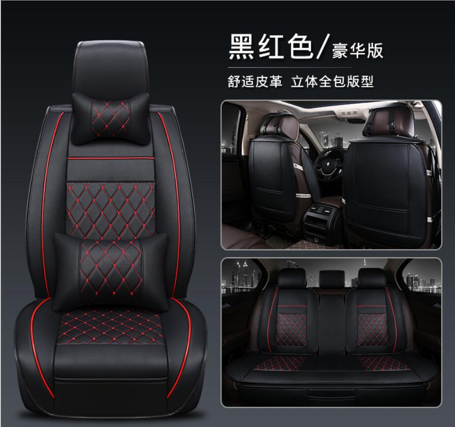 Car Seat Covers Universal PU Leather Auto Front back Seat Covers for Hyundai solaris ix35 i30 ix25 Elantra accent tucson Sonata new york portrait of a city portrat einer stadt portrait d une ville