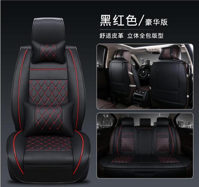 Car Seat Covers Universal PU Leather Auto Front back Seat Covers for Hyundai solaris ix35 i30 ix25 Elantra accent tucson Sonata