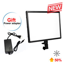 Luxpad43-H 14 LED Panel 3200K-5500K Camera Photography Video Studio Light with AC Adapter for Canon Nikon Sony Pentax Panasonic mcoplus led 168 led video lamp photography light for canon nikon pentax panasonic olympus