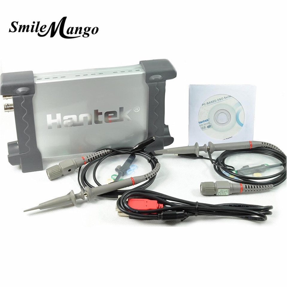 Oscilloscope Hantek 6022BE PC-Based USB Digital Storag 2Channels 20MHz 48M Sa/s