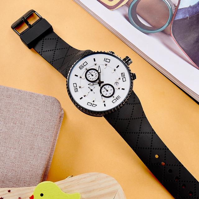Sports Watches relaxation Mens  Stopwatch 30m Waterproof  Watch  Reloj Hombre SINOBI Sport Chronograph Watch Free Shipping