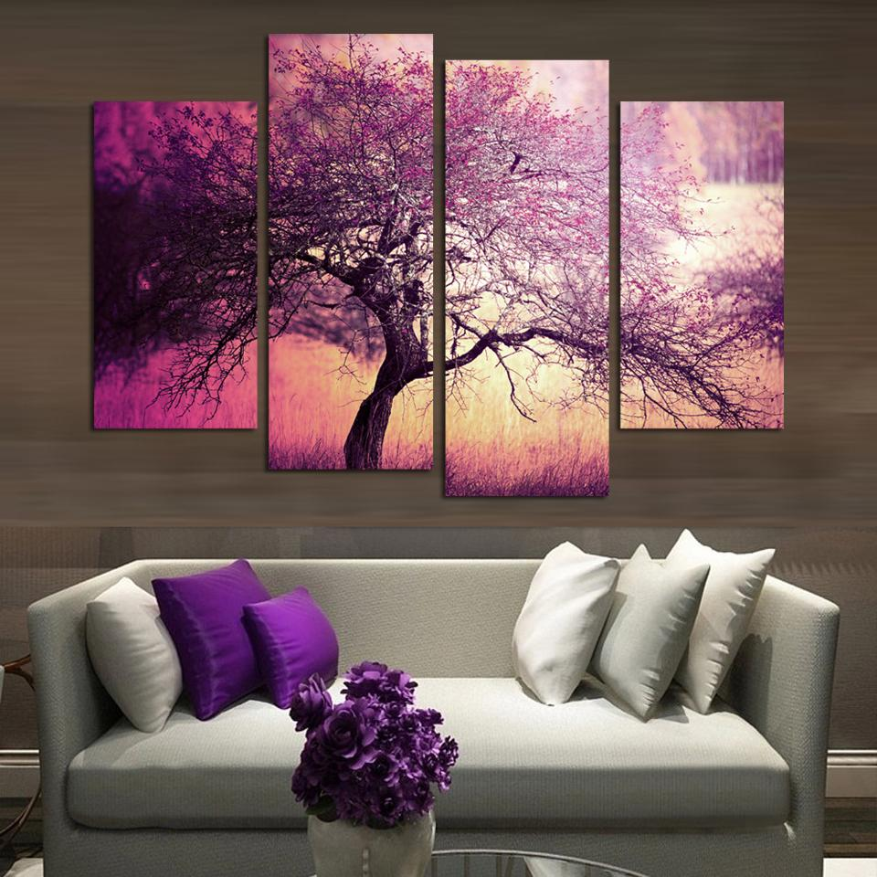 Purple Living Room Accessories   Bedroom and Living Room Image ...