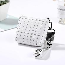 Women Fashion Mini Geometric Coins Keys Purse Holder