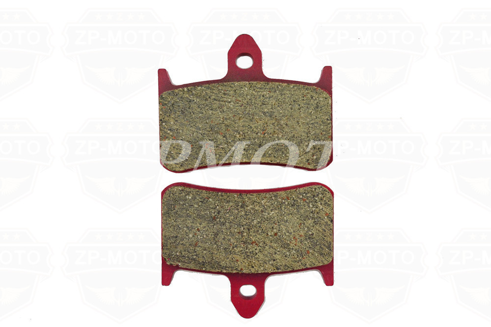 High-Quality CARBON CERAMIC ROAD BRAKE PADS For HONDA RVF 750 94-98 VFR 750 88-90 NT 650 88-92 RVF 400 RR NC35 94-96 (Front)