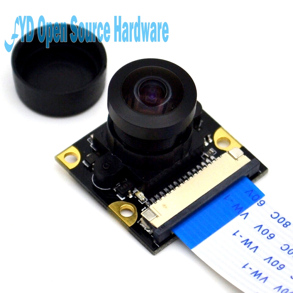 Raspberry pie wide angle FishEye camera kit +LED Raspbery Pi camera infrared light lamp