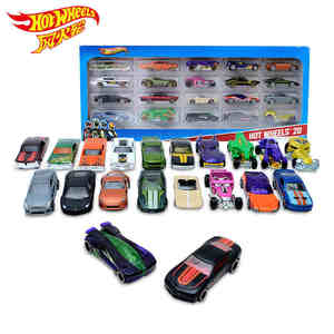 Hotwheels Hot Sports Alloy Car 20 Piece loaded carros brinquedosSlot Car Model For Boys Gift Educational Toys For Children
