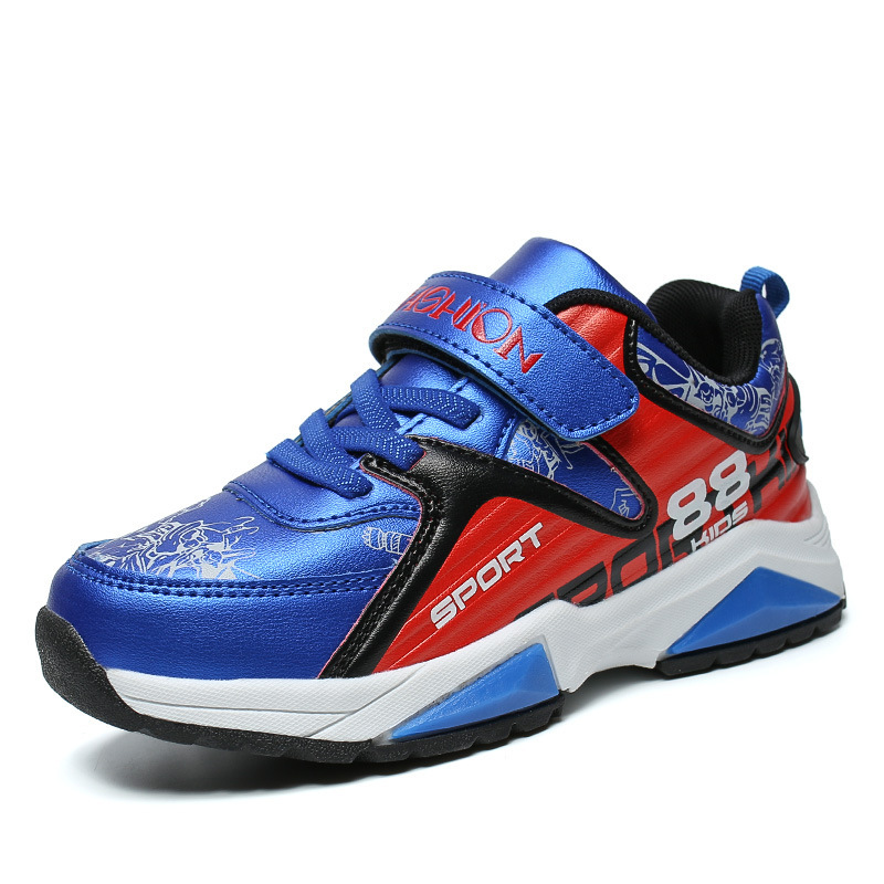 Sneakers Basketball Kids 2018 Outdoor Athletic Training Leisure Non Slip Running shoes For Boy And Girl