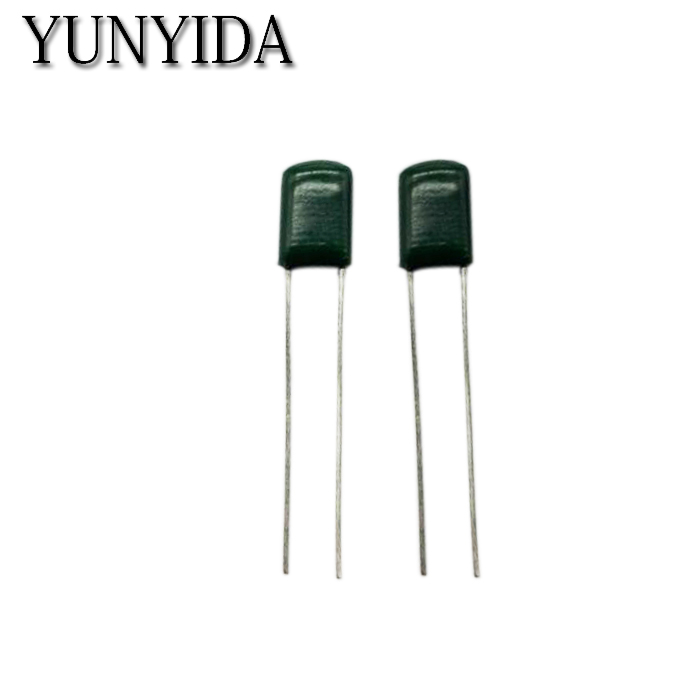 50 pcs Polyester Film Capacitor 2A221J 100V 220pF F Free shipping image