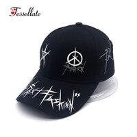Tessellate New Arrival Geometric Design Baseball Cap Unisex Hip Hop Cap Cotton Adjustable Snapback Hat For