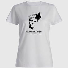 Xxxtentacion Graphic T Shirts Womens Clothing Shirt Women Aesthetic Tshirt Couple Clothes Wholesale Round T-shirt Top