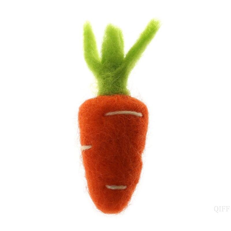 Freundschaftlich Neue Fotografie Requisiten Fühlte Karotte Gemüse Diy Handgemachte Handwerk Dekoration Weihnachten Baby Foto Hintergrund Zubehör Kleidung NüTzlich FüR äTherisches Medulla