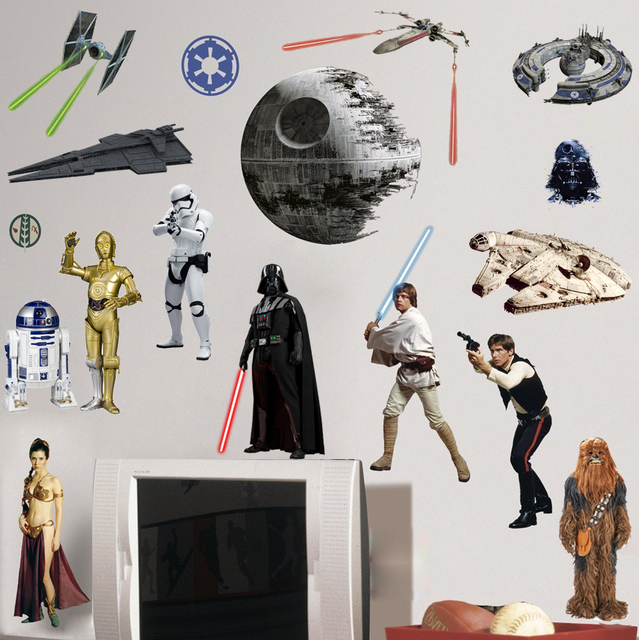 ... Charming Star Wars Lego Wall Stickers Photo Part 42
