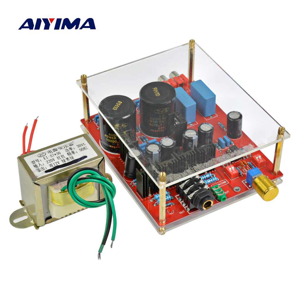 Aiyima Lehmann Circuit Design Lm317 Lm337 Voltage