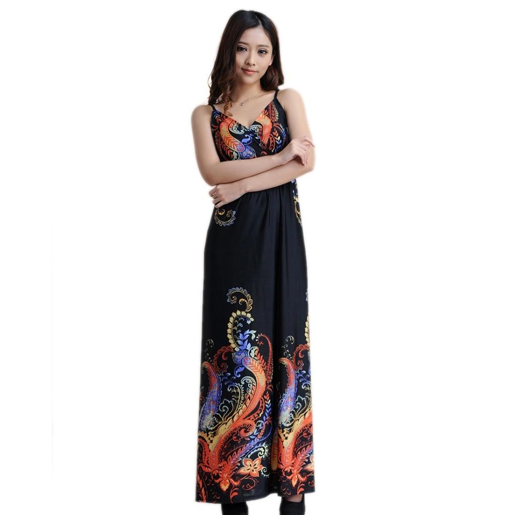 women summer dress vestido azul vestido bandage retro jupe bohemian vestido bandage maxi dresses 6xl plus size women