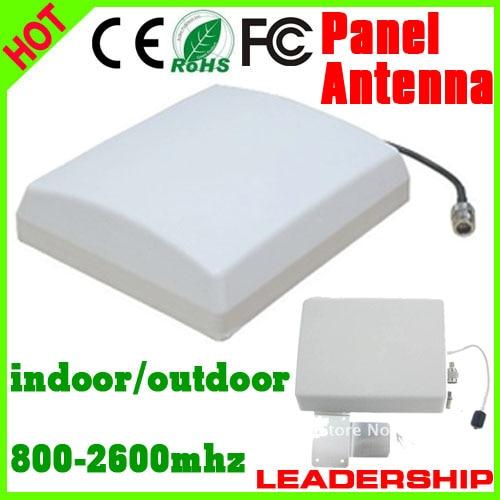 Outdoor Panel Antenna 9dBi 800mhz-2500MHz GSM 3G WIFI DCS WCDMA UMTS Cell Phone Booster Antenna 3G Antenna Indoor Antenna