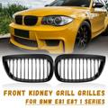 Черный глянец Передняя Спорт почек гриль решетки для BMW E87 E81 1 серии 2004 2005 2006 2007