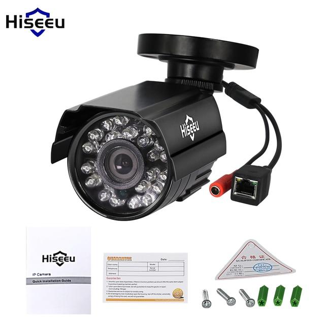 Hiseeu 720P Mini IP Camera HI3518E Security Bullet IP CCTV Camera indoor/outdoor IR CUT Night Vision P2P 1.0MP ONVIF 2.0 Remote