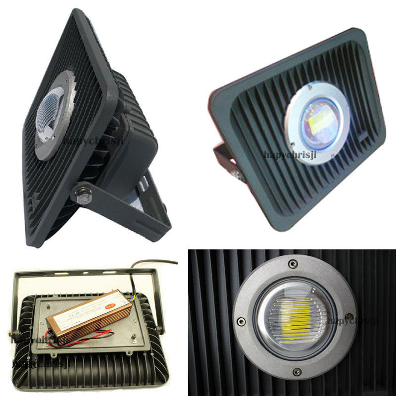 Warford New 50W High Power LED Floodlight Warm White Light Outdoor Landscape 85-265V