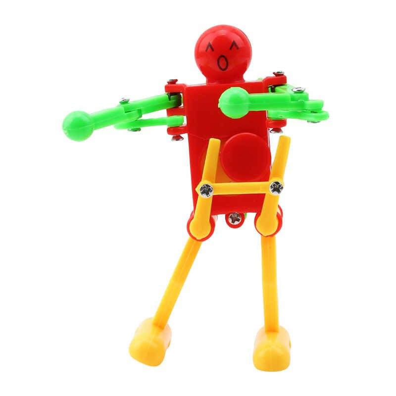 Новые Классические милые Мультяшные животные заводные игрушки детские пластиковые заводные весенние ветрозащитные игрушки для танцев робот подарки