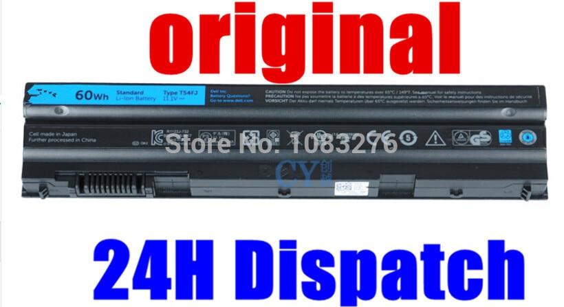 original Battery For Dell Latitude E5420 E5420m E5520 E5530 E6430 E6520 E5430 E5520m E6420 E6530 E6440 For Inspiron 14R 15R 60wh 11 1v laptop battery for dell latitude e5420 e5520 e6420 e6520 t54fj laptop