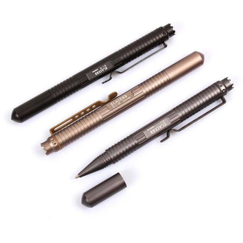Outdoor Survival Multipurpose Aluminum Tactical Pen Emergency Glass Breaker Outdoor Self Defense EDC Accessories 4A