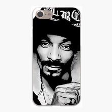 Snoop Doggy Dogg Hard Transparent Case for iPhone 7 7 Plus 6 6S Plus 5 5S SE 5C 4 4S
