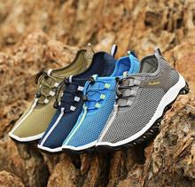 Brand 2018 New Spring Summer man light massage casual shoes mens walking male