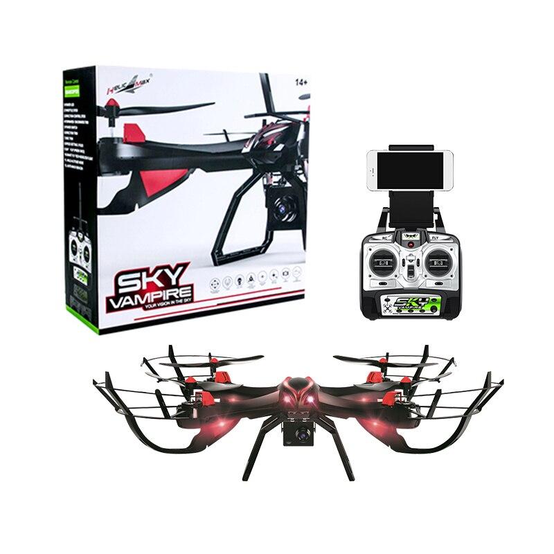 CIELO VAMPIRE Profissional Drones FPV Con 720 p HD Della Macchina Fotografica 2.4g Drone RC Quadcopter GPS 4 k WIFI Dron rc elicottero