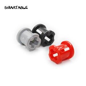 Smartable MOC Technic Bush 1x1 блок часть креативные развивающие игрушки Совместимые Technic 3713 100 шт./лот для детей