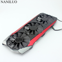 New 87MM  T129215SU DC 12V 0.50AMP 4Pin 4 Wire Cooling Fan For ASUS GTX980Ti R9 390X R9 390  Graphics Card Fans