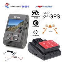 Free Shipping Car Dash Camera DVR A119 Capacitor Novatek 96660 2K HD GPS Logger Hard Wire
