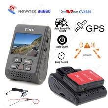 Free shipping! Original VIOFO Car Dash Camera DVR Video Recorder A119 Capacitor Novatek 96660 HD Built-in GPS Logger Hard Wire