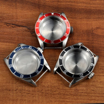 New 41mm Corgeut polished stainless steel case hardened mineral glass fit MIYOTA 8215 821A 2836 movement Watch Case