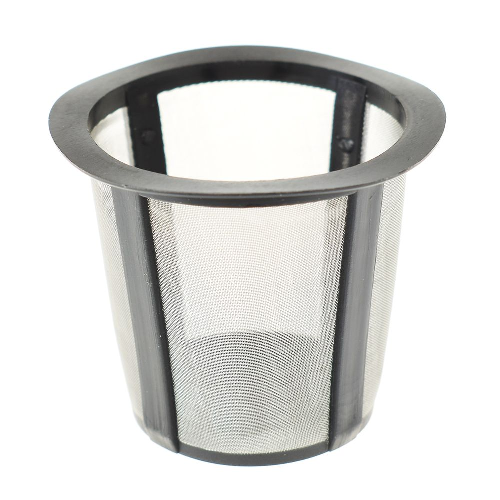 Reusable Stainless Steel Mesh Tea Metal Cup Tea Leaf Filter Coffee Filter Cup Kitchen K-cup