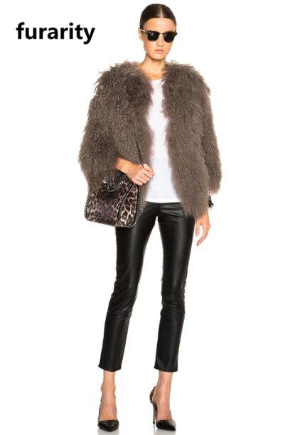 5b690811c678d J0217 Hot Sale Women Winter Fur Mongolian Lamb Fur Coats Top Quality ...
