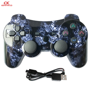 Image 1 - K ISHAKO For SONY PS3 Bluetooth Controller Gamepad Manette For Sony Play Station 3 Joystick Wireless Gamepad SIXAXIS Dual Vibrat
