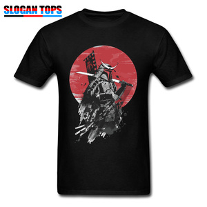 Boba Fett Samurai T-shirt Cool T Shirt Men Black Tops Vintage Japan Style Clothes Summer Cotton O Neck Teeshirt XS