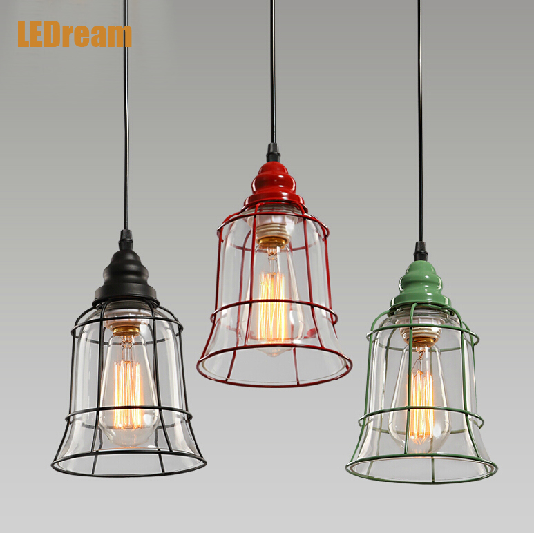 Industrial wind restoring wrought iron chandelier bar individuality creative cafe restaurant clothing store pendant lamps