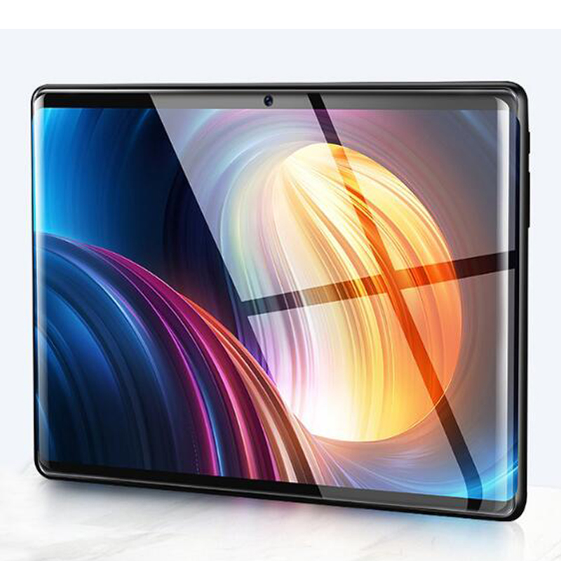 6 + 128 GB 10 pouces tablette PC 3G Android 9.0 Octa Core Super tablettes Ram 6 GB Rom128GB WiFi GPS 10.1 tablette IPS S119 double SIM GPS