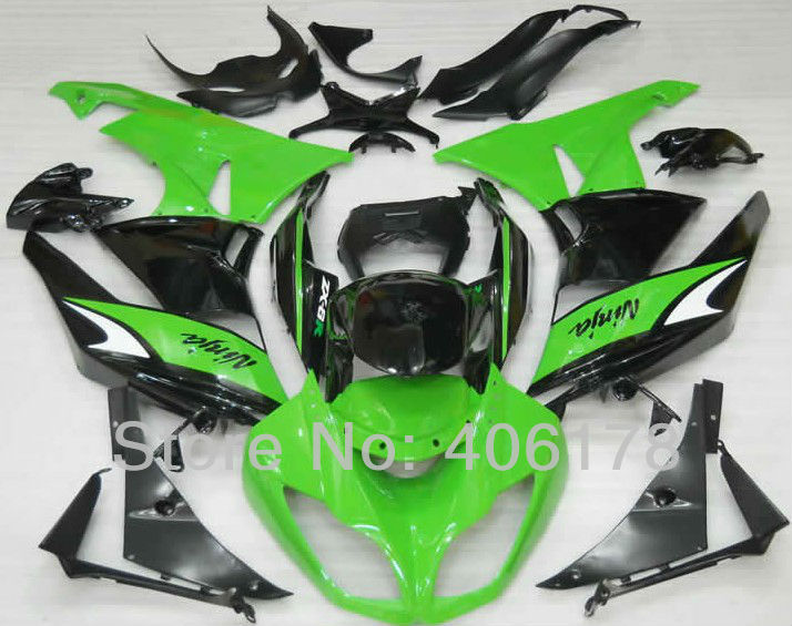 Hot Sales,ZX-6R 09 10 11 12 fairing kit For kawasaki Ninja ZX6R 2009 2010 2011 2012 Green Motorcycle Fairing (Injection molding) hot sales for kawasaki ninja kit zx6r 09 10 11 12 zx 6r 636 zx636 2009 2012 zx 6r motorcycle fairings parts injection molding