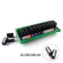 Original Omron relay single open module, 12-way 6-pin MCU control board PLC amplifier board drive control board цена и фото
