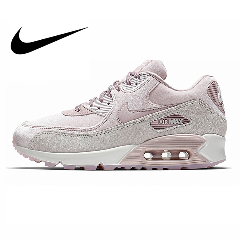 check out fecf2 ac7cf Original Authentic NIKE AIR MAX 90 LX Women s Running Shoes Sport Outdoor  Sneakers Comfortable Durable Breathable