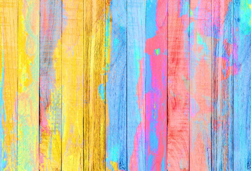Laeacco Grunge Rainbow Colorful Wood Boards Planks Photography Backgrounds Customized Photographic Backdrops For Photo Studio laeacco ancient stone wall flooring portrait grunge photography backgrounds customized photographic backdrops for photo studio