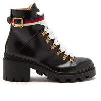 Полусапожки из натуральной кожи, осенне зимние ботинки в британском стиле ретро, женские короткие ботинки «Челси», роскошная обувь