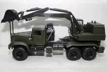 Редкая литая игрушка модель 1:43 советское соединение инженерные тяжелых грузовиков экскаватор транспортных средств для мальчика подарок, украшения, коллекция