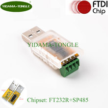 USB RS485 Adapter Converter Plug to 4 pole terminal block FTDI rs485 ethernet driver support for win7/8/10/mac/android/mac(China)