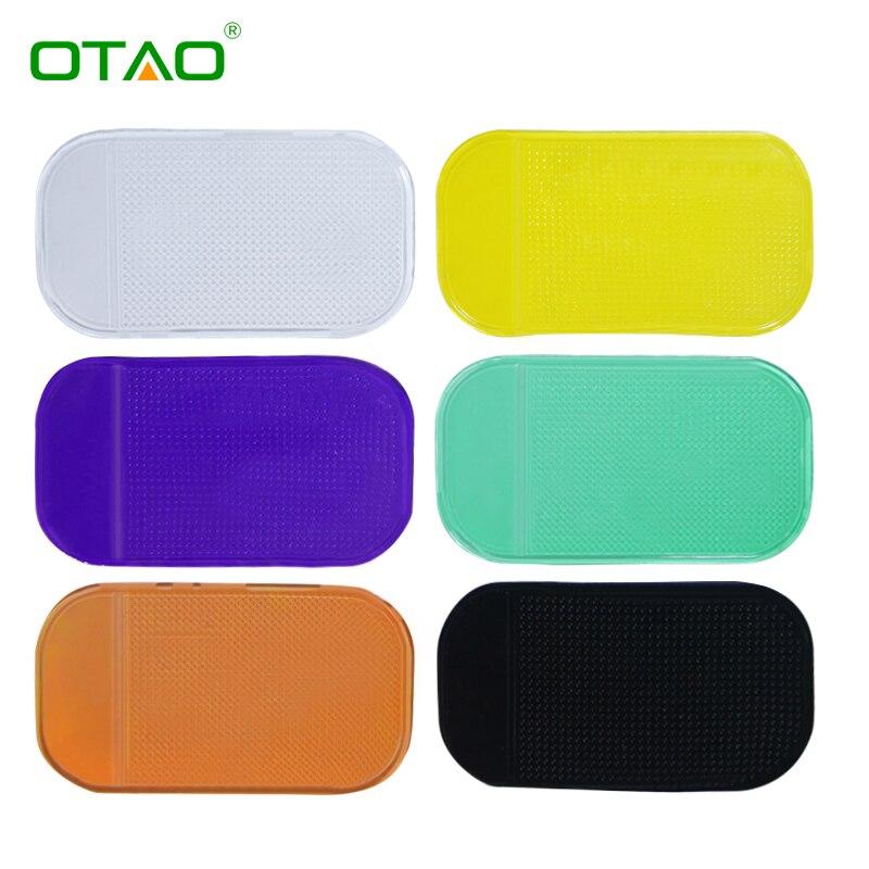 Soporte para coche parabrisas dashboard sticky pad antideslizante montaje para i