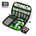 BAGSMART Electronic Accessories Packing Bag For Phone Charger Date Cable SD Card USB To Travel Organize Put In Suitcase